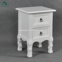 living room furniture wooden antique white corner cabinet