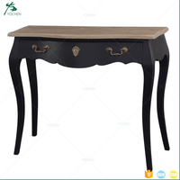 Bedroom wooden antique cosmetic console table