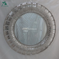 beauty mirror decoration wall metal round mirror