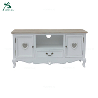 Wood TV cabinet modern living room TV stand TV unit