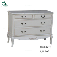 Cheap Price White Wooden Chest With Drawer For Living Room