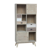 living room furniture storage book shelf wooden cabinet