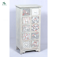 White Bedroom Chest of Drawers Pine Drawer Storage