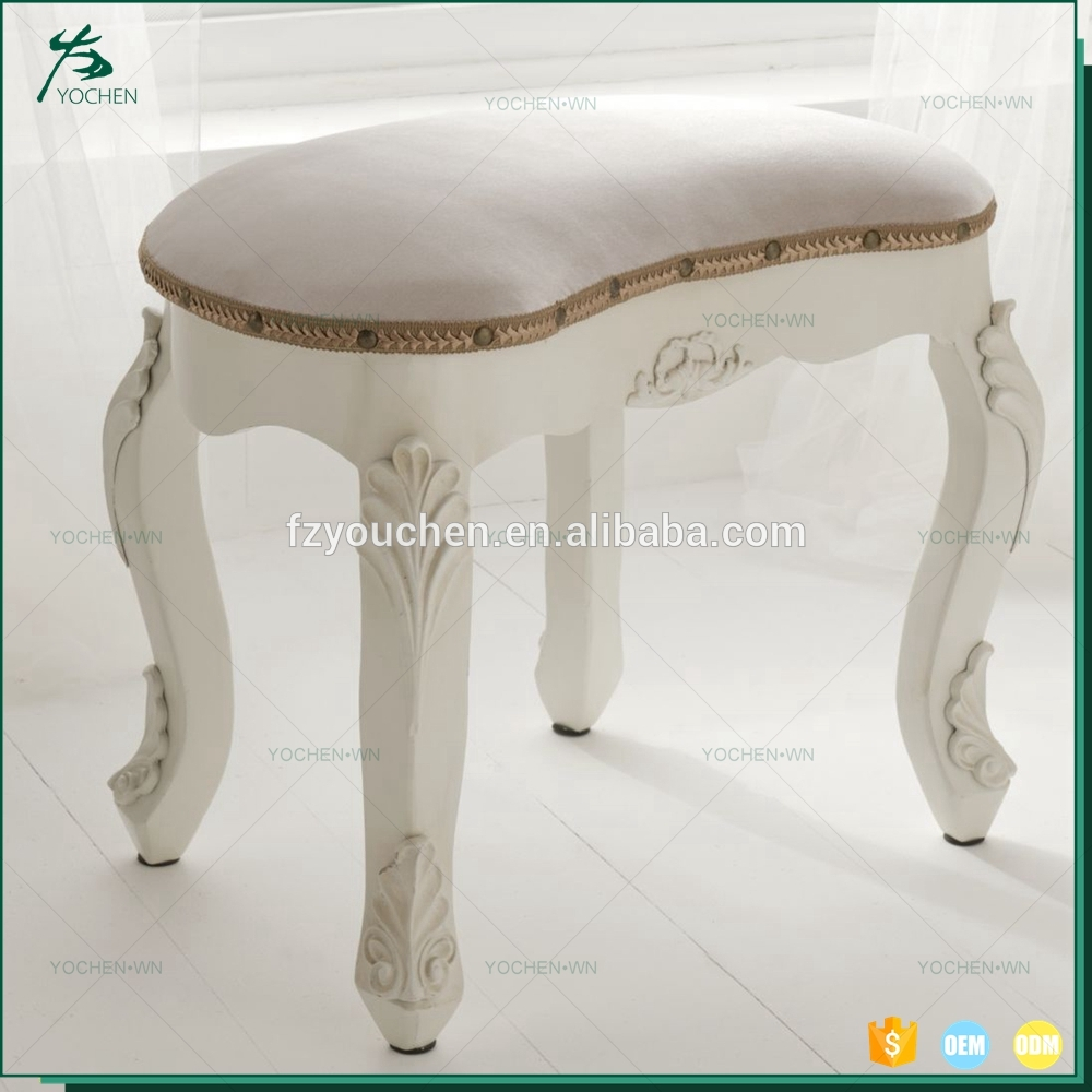 Hot Sale Elegant Home Decor European Wooden Dresser Chair