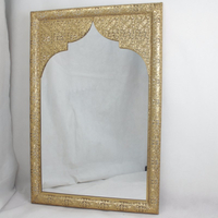 wall art decor gold wall frame mirror