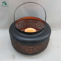 shabby chic home decor indian candle holders