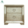 Classical Luxury 2 Drawer Mirrored Nightstand Bedsides