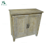 Reproduction French Furniture Wood Vintage Cabinet
