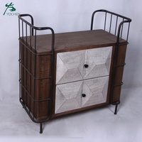 classic living room furniture hand painted wood cabinet