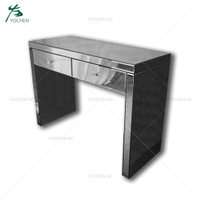 Home furniture modern art deco mirrored console table