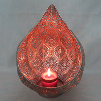 Customized Oem Elegant Tealight Metal Candle Stand