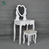 Wholesale bedroom furniture white make up dressing table