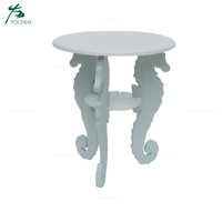 Luxury designs small round wood table modern with 3 legs