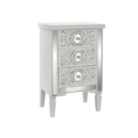 Customize Bedside Table 3 drawer furniture Cabinet wooden storage cabinet