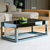 Living Room Reflect Smoked Mirrored Furniture Coffee Table