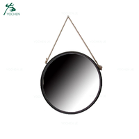 Vanity decorative round wall mirror for hotel