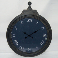 Creative vintage look wall clock home decoration wood wall clock for gift