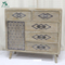 antique style console table wooden living room cabinet