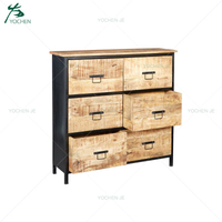 French style accent wooden bedroom cabinet furniture