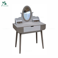 Noble White Clearance Goods Mdf vanity desk