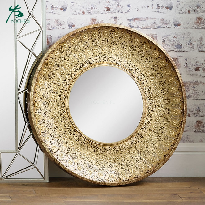 round mirror decoration wall large cheap mirror