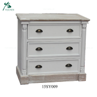 Chinese antique furniture reclaimed wood white sideboard cabinet