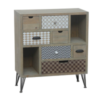 shabby chic solid wood door chest of drawer wood furniture cabinet