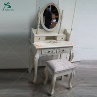 MDF wooden furniture makeup dresser antique dressing table