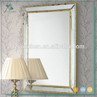 wall mirror gold wall frame