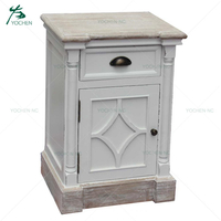 bed room furniture bedroom set solid wood door bed side table