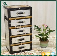 Metal Aluminium Chest of Drawers Cabinet