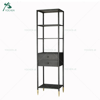 Metal Corner Book Shelf Bookcase