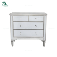 living room cabinet silver sideboard modern mirrored furniture