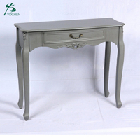special color console table antique living room console table