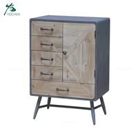 Industrial vintage furniture china furniture wooden cabinet designs for living room
