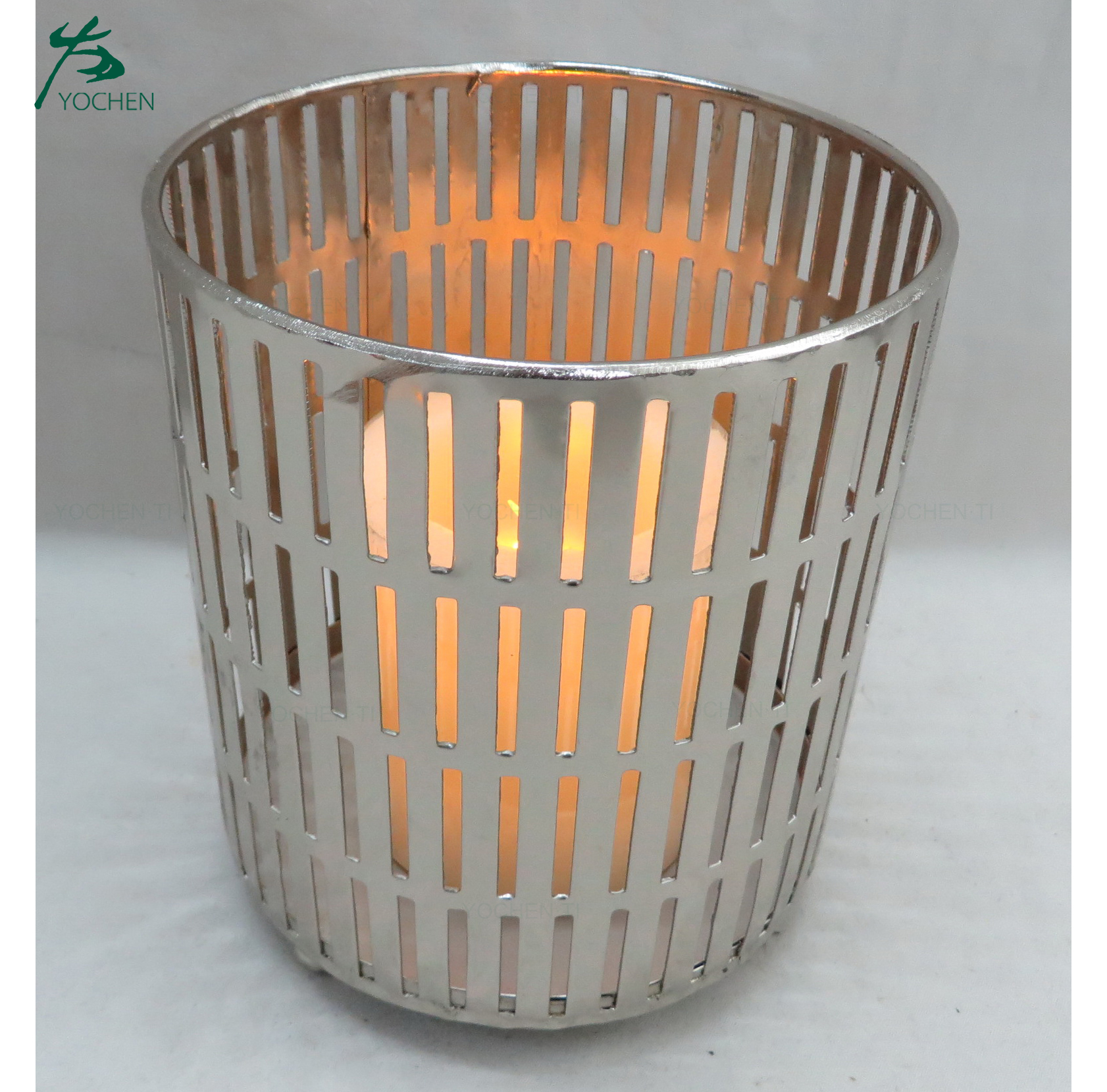 Cheap Tea light OEM metal candle holder for home decoration