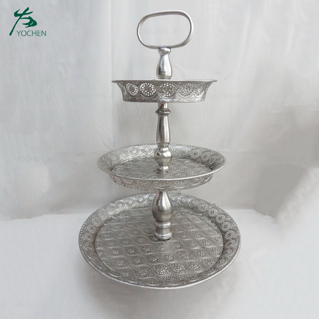 Wedding Hotel Metal Dessert Cake Display Stand