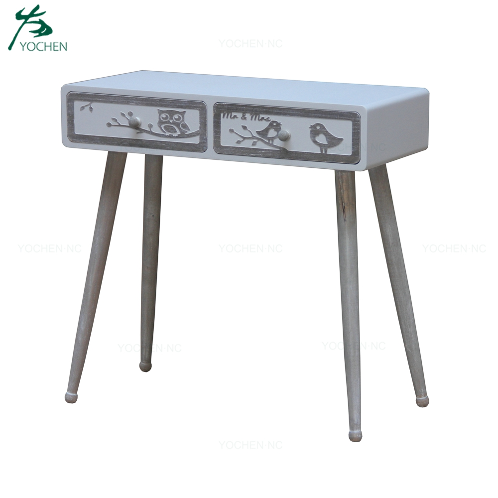 living room wooden furniture console table modern