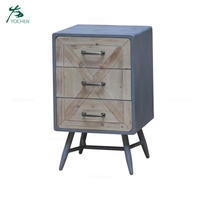 wooden furniture bedside table nightstand with drawers