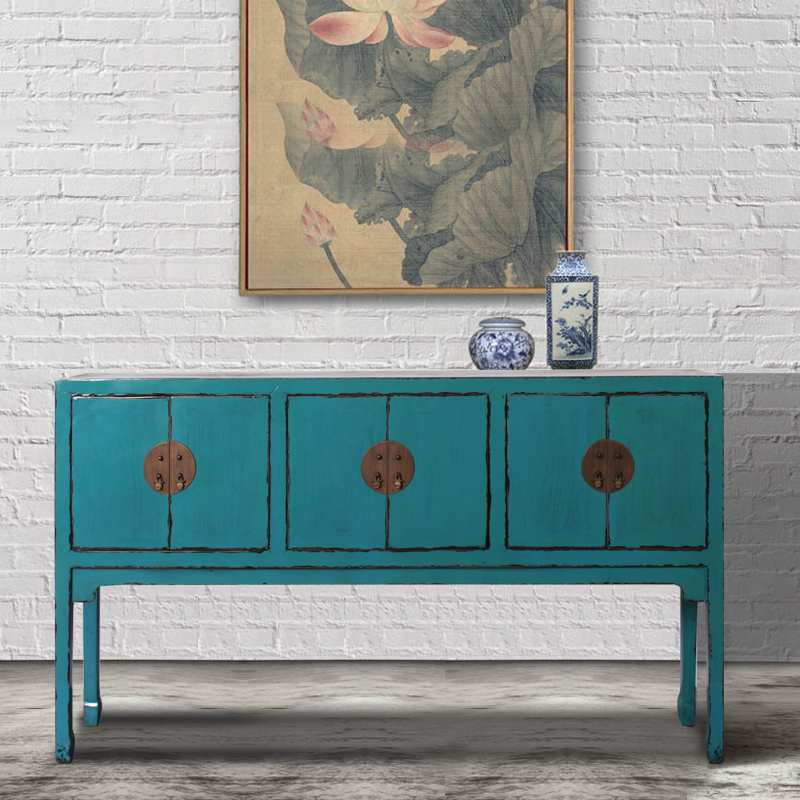 living room wooden chinese antique console table