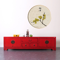 living room furniture solid wood antique chinese tv stand