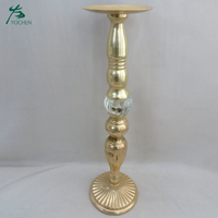 Wholesale long stem metal tealight candle stick holder