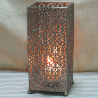 Wholesale Attractive Tin Candle Holder