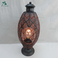 Metal Iron Decorative Multi-function Candle Holder Home Center