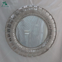 Large oval mirror for house use with different colorful frames