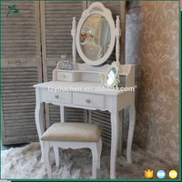 White Beauty Rose For Bedroom Dressing Table Designs