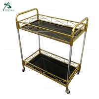 Hotel Food Serving Trolley Food Service Cart With Wheels