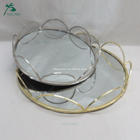 color customize rose gold decorative metal plates