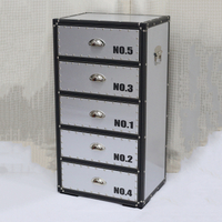 Aluminium Storage Chest of drawers