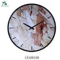 luxury decorative antique metal wall clock